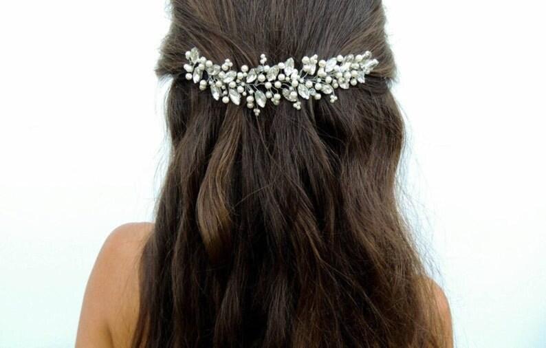 Bridal Hair Accessories Wedding Headpiece Hair Accessories image 1