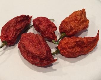 Carolina Reaper - Premium Quality Dried Peppers