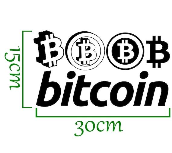 "Bullish Bitcoin TP 265 6/"" stock market Decal Sticker crypto wallet investing"