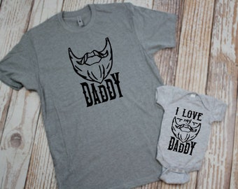 6b3beb51 Bearded Daddy, Unisex Tshirt, ADULT TSHIRT ONLY, Dad Gift, New Gift, Viking,  Fathers Day