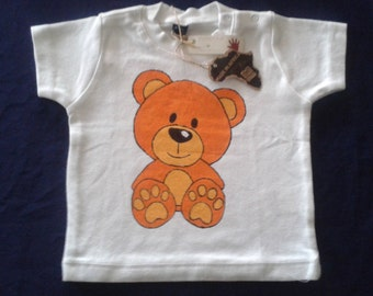 hand painted 6-sleeved shirt 12 months