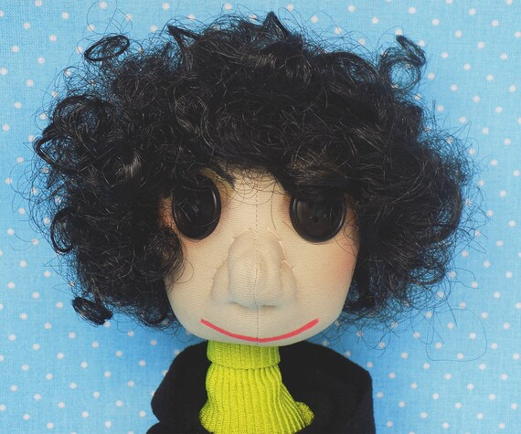 Wybie Doll Cloth Doll Boy Coraline Jones Handmade Doll Rag Etsy