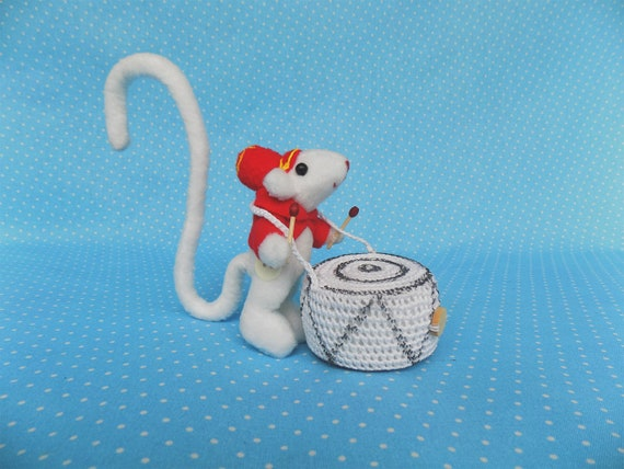 Mouse Circus Coraline Small Sloth White Mouse Coraline Etsy