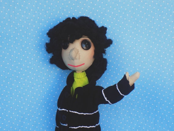 Other Wybie Handmade Textile Doll Coraline Coraline Jones Etsy