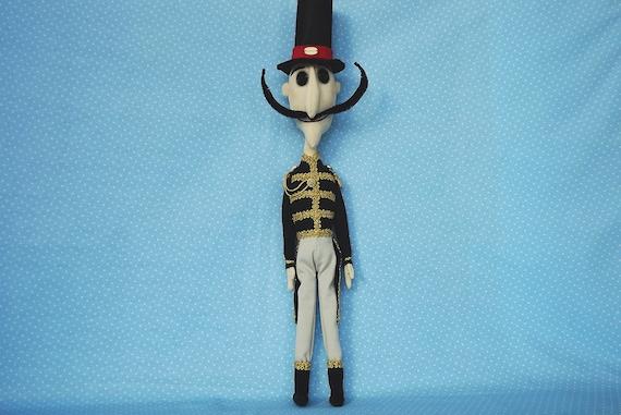 Mr Bobinsky Coraline Plush Coraline Ghost Coraline Cosplay Etsy