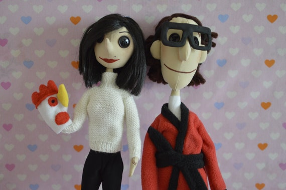 Doll Of Coralina S Parents Coraline Character Coraline Etsy