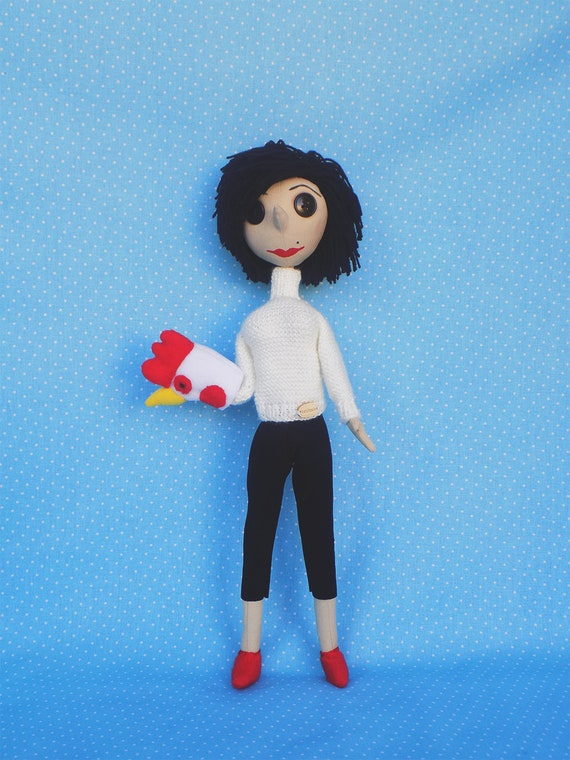 Coraline Other Mother Coraline Doll Coraline Movie Coraline Etsy