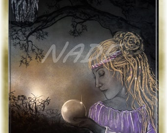 "Reproduction of art (A4) ""Artist NADE"" the Seer. You can see a video of these works on this link https://youtu.be/Mm84CgyvWO8"