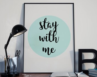 Circle Stay With Me - Circle Stay With Me Art - Circle Stay With Me ArtWall - Circle Stay With Me Digital - Circle Stay Withe Me Download