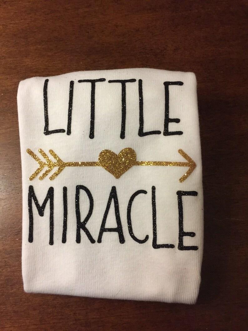 Little miracle baby onsie