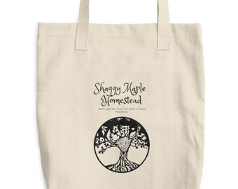Shaggy Maple Tote Bag