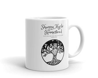 Shaggy Maple Homestead Mug