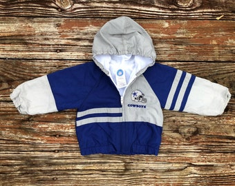 Vintage 90 s baby Dallas Cowboys NFL jacket size  18 months 44ae6be46