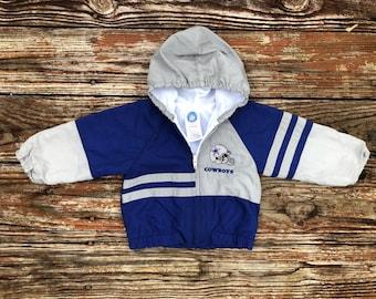 0bed806d5 Vintage 90 s baby Dallas Cowboys NFL jacket size  18 months