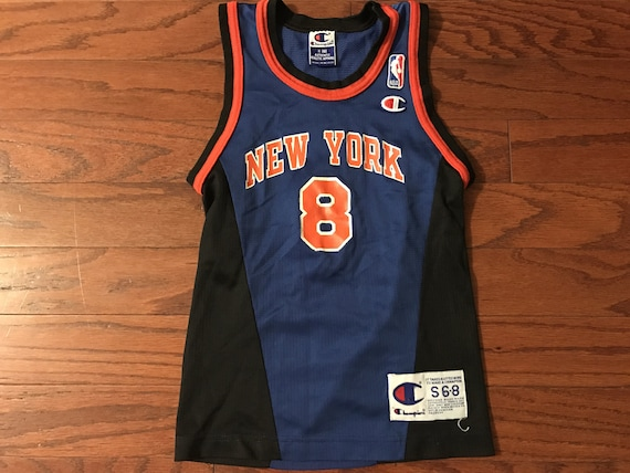 Vintage 90 s champion Latrell Sprewell New York Knicks  18b1ec42d