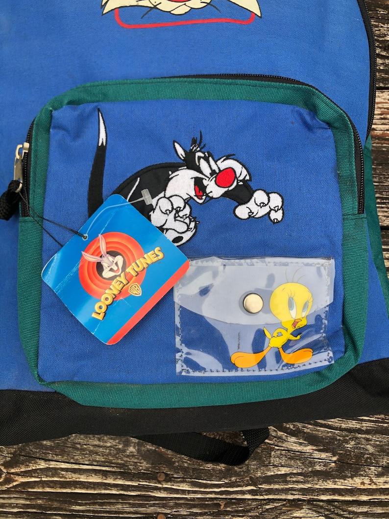 Vintage 90\u2019s kids looney tunes tweety bird backpack