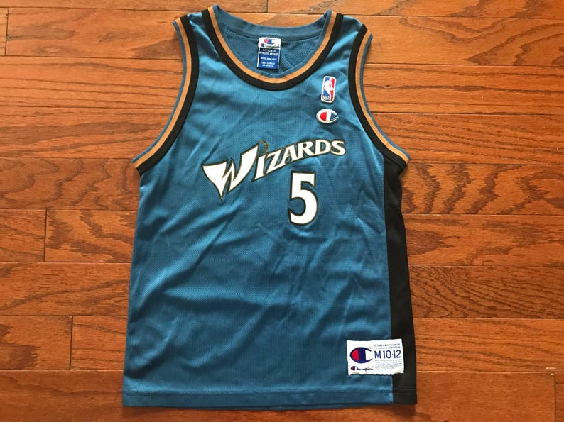 buy online c2416 bce0b Vintage Washington Wizards Dwight Howard NBA Champion jersey youth