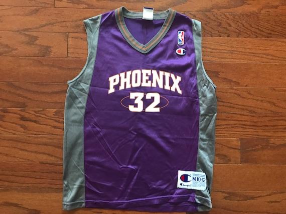 eb3825bf111b Vintage 90 s Phoenix Suns Jason Kidd NBA champion jersey