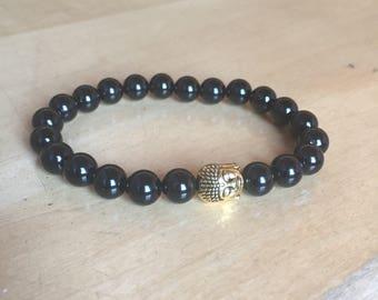 Bracelet Onyx Buddha