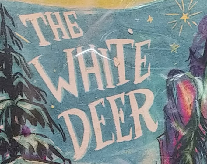 The White Deer by James Thurber - First Edition Children's Books - Vintage Child Book, Children's Fantasy, Don Freeman, 1940s