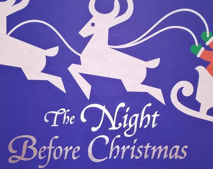 Pop-Up Book - The Night Before Christmas by Robert Sabuda, Clemente Clark Moore - First Edition, Children's Books, Santa Clause, Reindeer