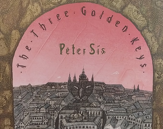 The Three Golden Keys by Peter Sis - 1994 First Edition - Vintage Child Book, Prague Czechoslovakia, Czech Legends, Czech Folk Tales