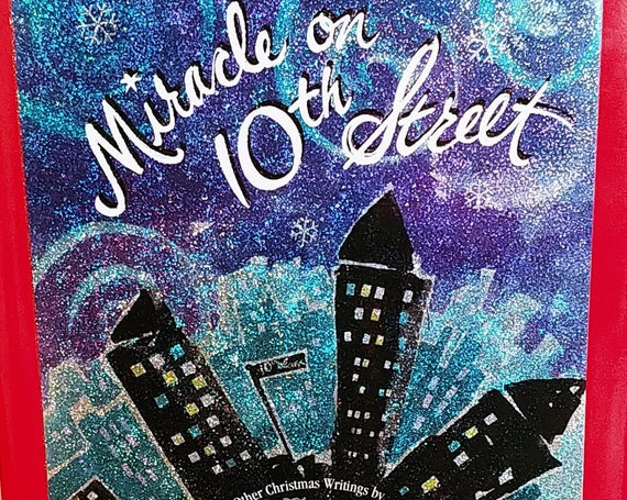 Miracle on 10th Street and Other Christmas Writings by Madeleine L'Engle - First Edition Children's Books - Vintage Book, Book for Christmas
