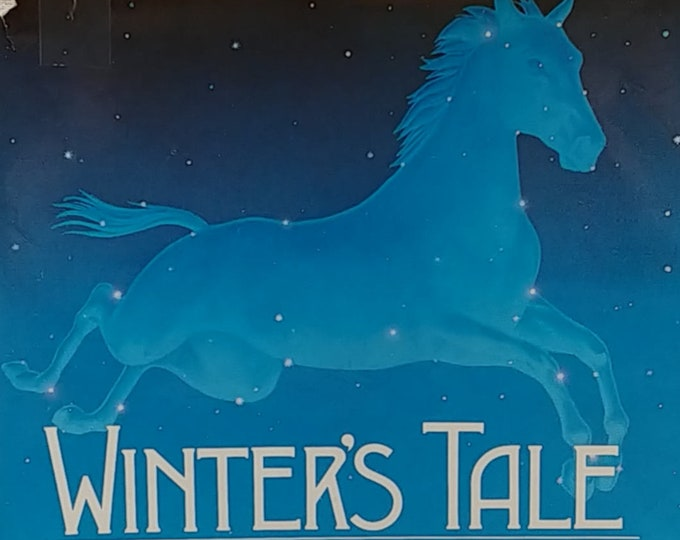 Winter's Tale by Mark Helprin - First Edition - Vintage Book, Fantasy Fiction, New York City