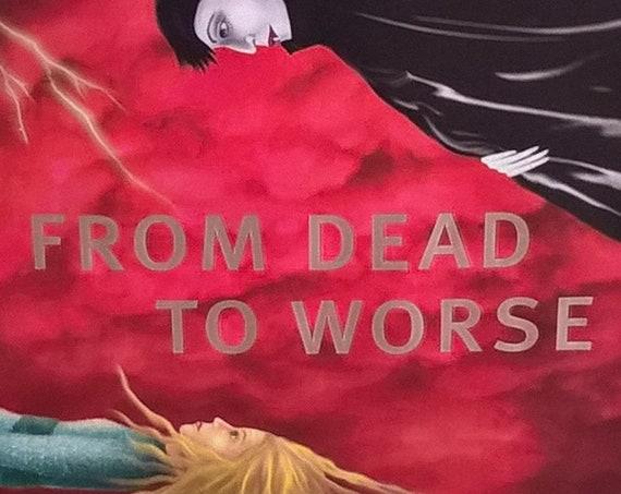 From Dead To Worse by Charlaine Harris - Sookie Stackhouse - True Blood Series - First Edition Children's Books, Fantasy, Vampire, Werewolf