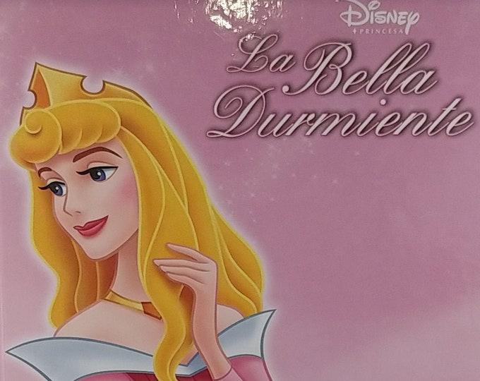 Disney's La Bella Durmiente - Sleeping Beauty - 2005 Spanish Language Edition - Disney Princesa Book