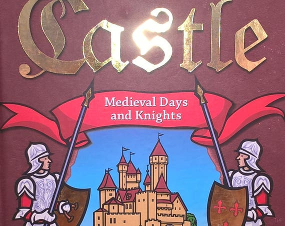 Castle: Medieval Days & Knights by Robert Sabuda - First Edition - Childrens Books, Kids Books, Pop-Up Book, Middle Ages, Castles