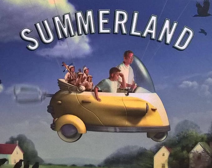 Summerland by Michael Chabon - First Edition - Children's Books, Mythopoeic Awards, Fantasy, Mythology, Magic, Baseball, Goblins