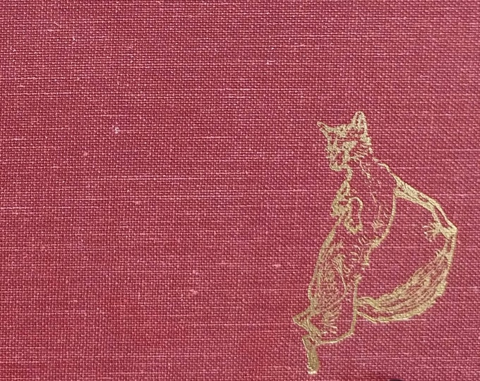 The Most Delectable History of Reynard The Fox - Joseph Jacobs - Vintage Book, Fables, Folk Tales, 1960s