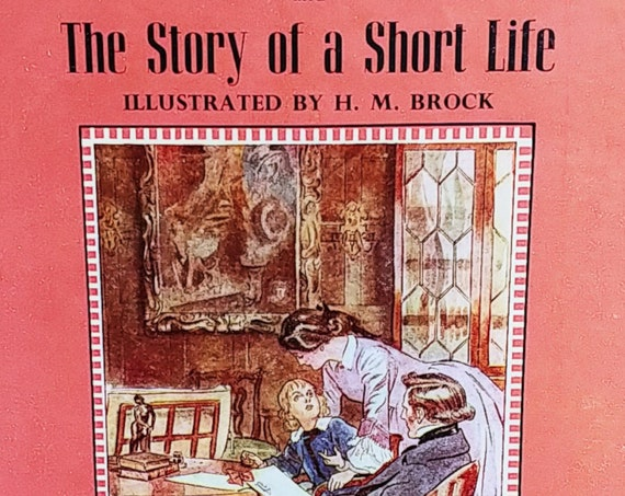 Lob Lie-By-The-Fire and The Story of a Short Life by Mrs Ewing - First Edition Children's Books - Vintage Book, Dent Children's Classics