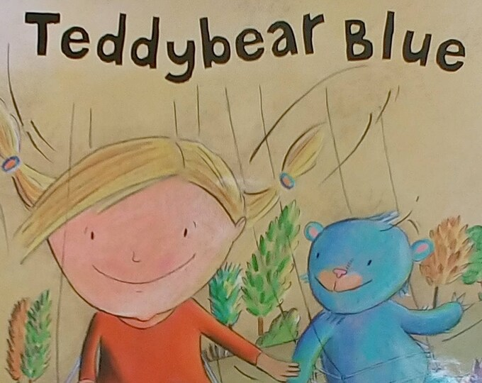 Teddybear Blue - Malachy Doyle, Christina Bretschneider - First Edition, Children's Book