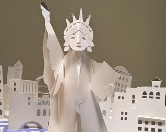 America The Beautiful by Robert Sabuda - First Edition Children's Books, Pop-Up Books, Washington DC, US Capitol, Statue of Liberty