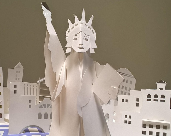 America The Beautiful by Robert Sabuda - First Edition Children's Books, Pop-Up Books, Washington DC, US Capitol, Statue of Liberty