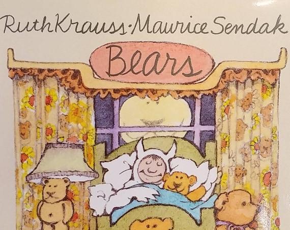 Bears - Ruth Krauss, Maurice Sendak - First Edition - Childrens Book, Teddy Bear Book