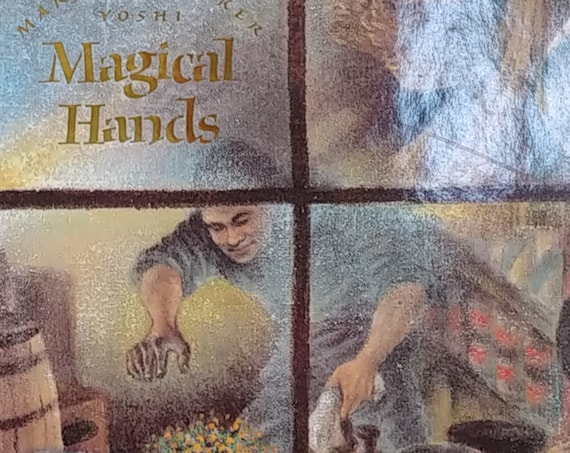 Magical Hands by Marjorie Barker - First Edition Children's Books - Vintage Book