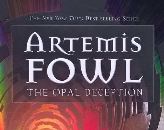 The Opal Deception by Eoin Colfer - Artemis Fowl - First Edition - Childrens Books, Kids Books, Fantasy, Science Fiction, Fairies, Pixies