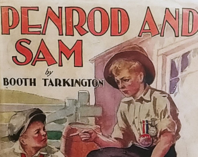 Penrod and Sam by Booth Tarkington - First Edition Children's Books - Vintage Book, Indiana, 1920s