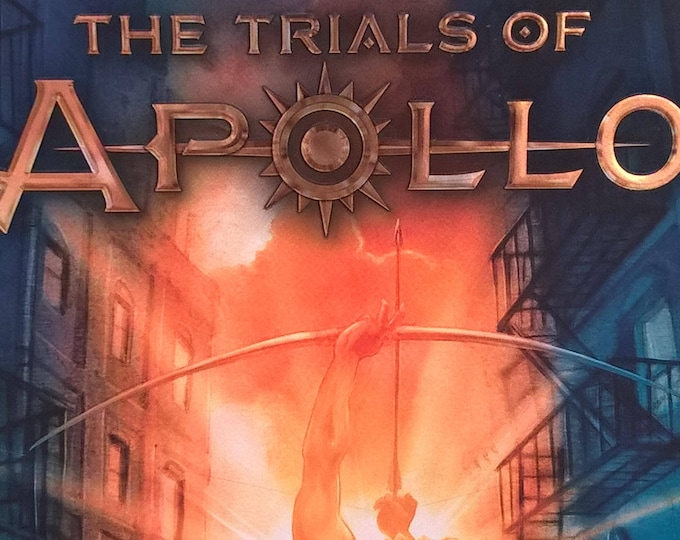 The Trials of Apollo by Rick Riordan - First Edition - Book #1 The Hidden Oracle