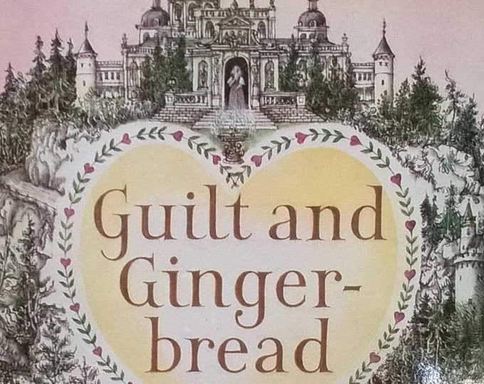 Guilt and Gingerbread by Leon Garfield, Fritz Wegner - First Edition Children's Books - Vintage Child Book, Fairy Tales, Witches, 1980s