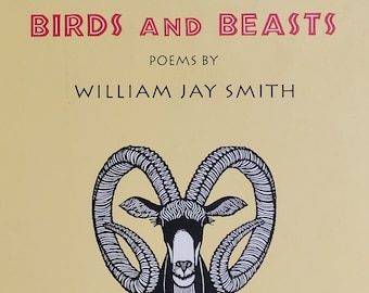 Birds and Beasts by William Jay Smith - 1990 First Edition - Jacques Hnizdovsky Woodcuts - Vintage Child Book