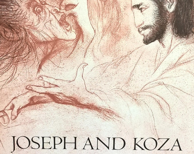 Joseph and Koza or The Sacrifice to Vistula by Isaac Bashevis Singer - First Edition Children's Books - Vintage Child Book, Judaica, 1970s