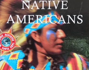 Native Americans by Fiona Macdonald - Ladybird Explorers - First Edition Children's Books - Vintage Child Book, Native Americans