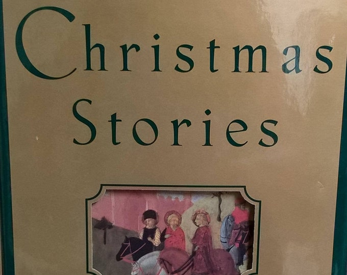 Christmas Stories - Tales of The Season - Vintage Child Book, Christmas Book, Children's Poems, 1990s