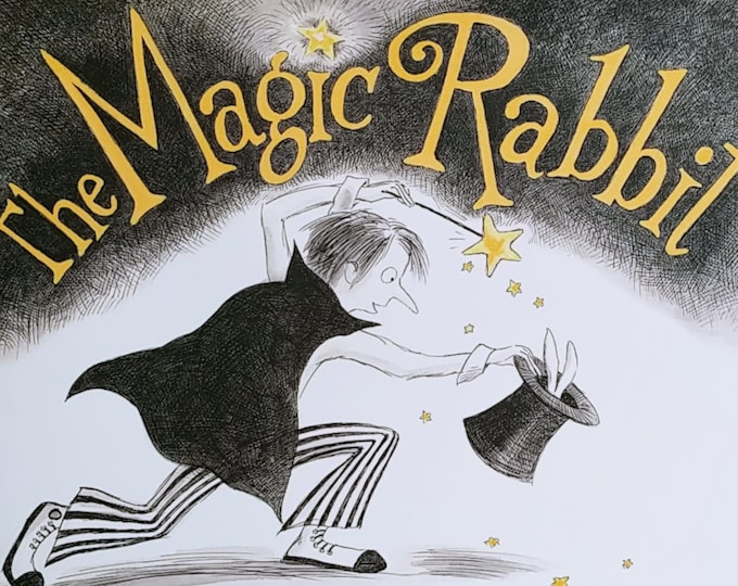 The Magic Rabbit by Annette LeBlanc Cate - First Edition Children's Books