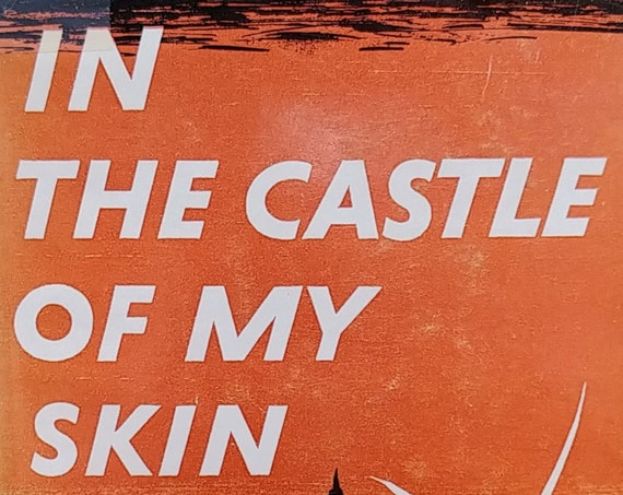 In the Castle of My Skin by George Lamming - 1954 U. S. Edition - Richard Wright - Vintage Book, Black Authors, Barbados West Indies