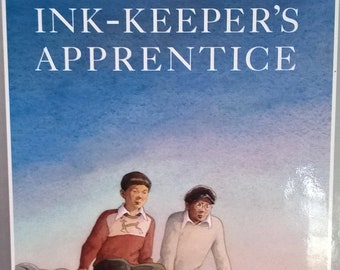 The Ink-Keeper's Apprentice by Allen Say - 1994 First Edition - Vintage Child Book, Caldecott Medal, Japanese Immigrants, Japanese Cartoons